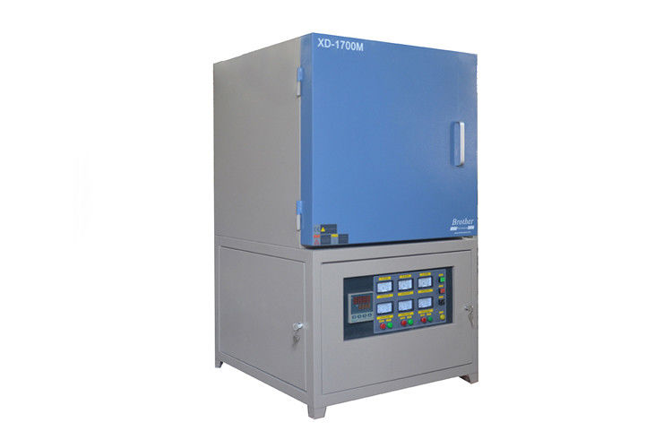Fast Heating High Temperature Muffle Furnace 120 - 250mm Thickness Continuous Working